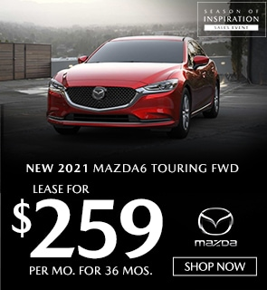 New 2021 Mazda6 Touring FWD