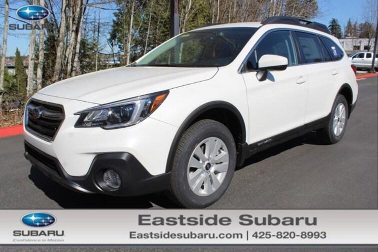 New 2019 Subaru Outback 2.5i Premium SUV for sale in Kirkland, WA