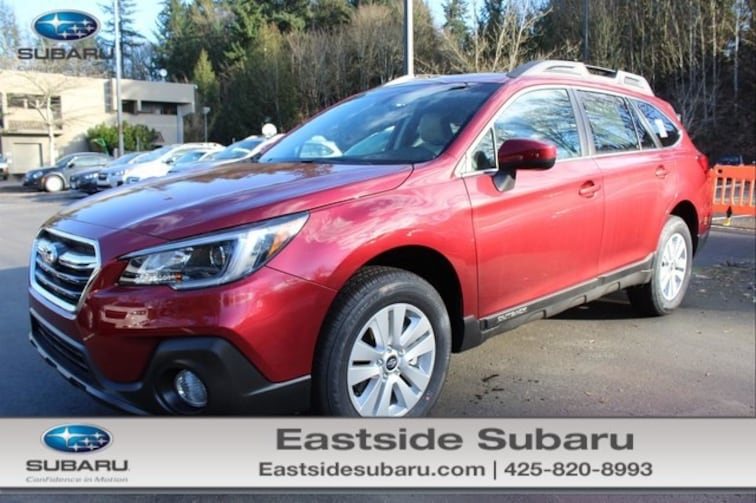 New 2019 Subaru Outback 2.5i Premium SUV for sale in Kirkland, WA