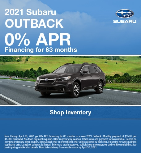 2021 Subaru Outback (APR)