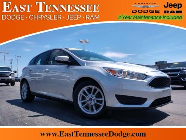 Used 2017 Ford Focus SE Hatchback 1FADP3K26HL278608 1FADP3K26HL278608 for sale near Knoxville TN