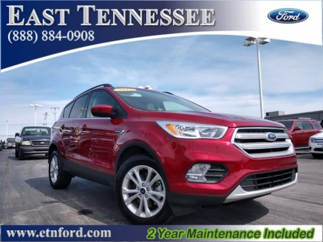 Used 2018 Ford Escape SE SUV 1FMCU0G91JUC13602 1FMCU0G91JUC13602 for sale near Knoxville TN