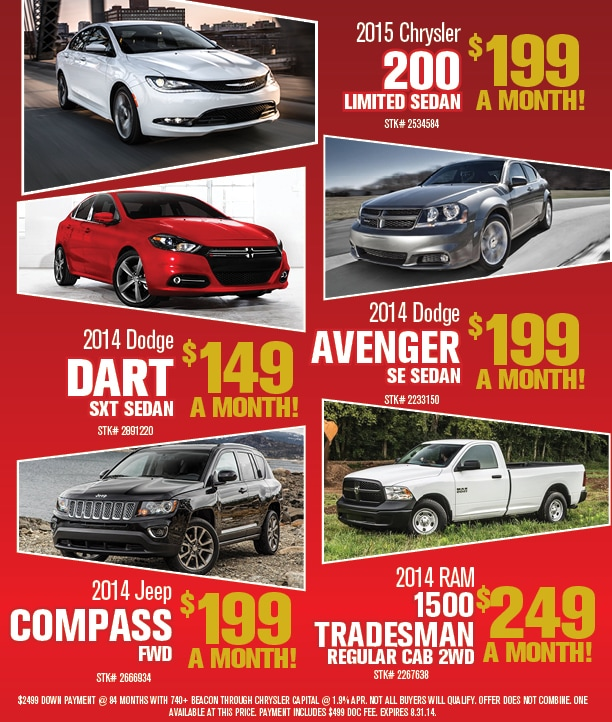 Summer Sell Down Event New Vehicle Specials near Crossville TN