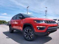 New 2019 Jeep Compass TRAILHAWK 4X4 Sport Utility 3C4NJDDB9KT772153 in Crossville