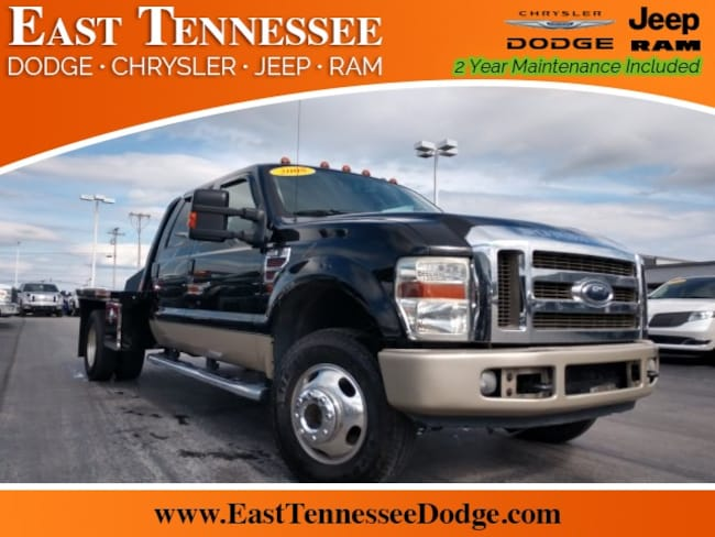 Used 2008 Ford F-350 King Ranch Truck Crew Cab 1FTWW33R18EB93410 1FTWW33R18EB93410 for sale near Knoxville TN