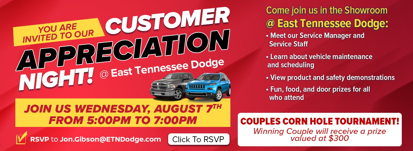 East Tn Dodge >> East Tennessee Dodge Chrysler Jeep Ram New Used Car Dealer In