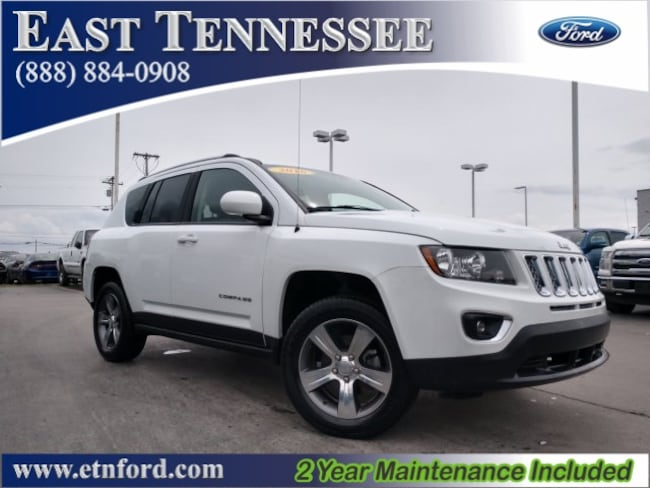 Used 2016 Jeep Compass High Altitude SUV 1C4NJDEB0GD772182 1C4NJDEB0GD772182 for sale near Knoxville TN