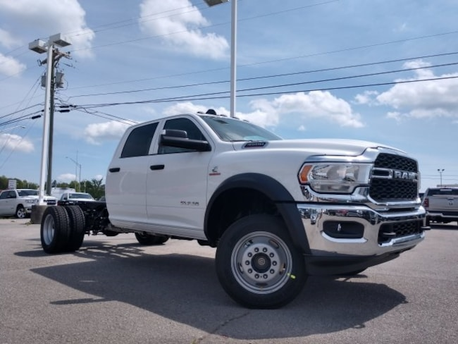 New 2019 Ram 4500 TRADESMAN CHASSIS CREW CAB 4X4 173.4 WB Crew Cab 3C7WRLEL7KG552469 3C7WRLEL7KG552469 for sale near Knoxville TN