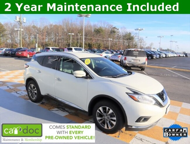 Certified Pre-Owned 2015 Nissan Murano SL SUV 5N1AZ2MH8FN253998 for sale near Knoxville TN