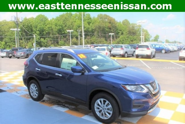 New 2018 Nissan Rogue SV SUV KNMAT2MT7JP550302 for sale near Knoxville TN
