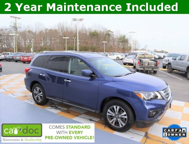 Certified Pre-Owned 2018 Nissan Pathfinder SV SUV 5N1DR2MM0JC603395 for sale near Knoxville TN
