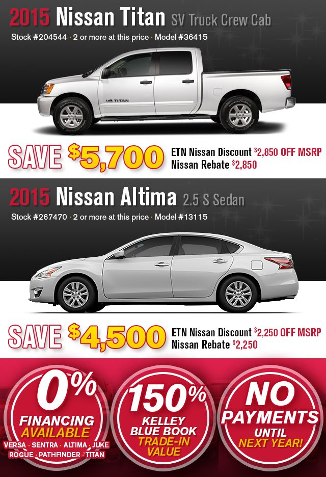 Perfect Only At East Tennessee Nissan. Double Nissan Rebate. Find Double Nissan  Rebates