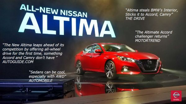New Nissan Altima Tri-Cities