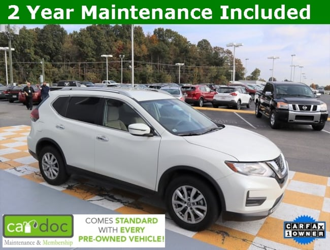 Certified Pre-Owned 2018 Nissan Rogue SV SUV KNMAT2MT7JP515176 for sale near Knoxville TN