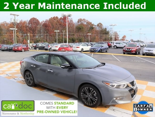 Certified Pre-Owned 2017 Nissan Maxima 3.5 Sedan 1N4AA6AP3HC372559 for sale near Knoxville TN