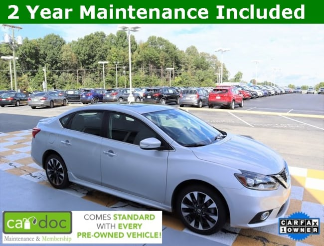 Certified Pre-Owned 2017 Nissan Sentra S Sedan 3N1CB7AP6HY235292 for sale near Knoxville TN