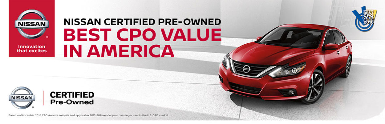 Nissan Certified Dealer Near Knoxville TN