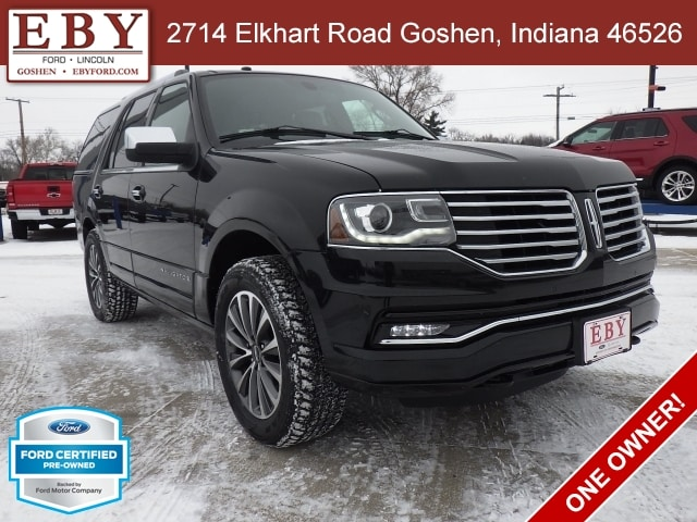 2017 Lincoln Navigator 4x4 Select 4WD Sport Utility Vehicles
