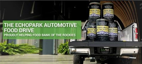 The EchoPark Automotive Food Drive: proudly helping Food Bank of the Rockies