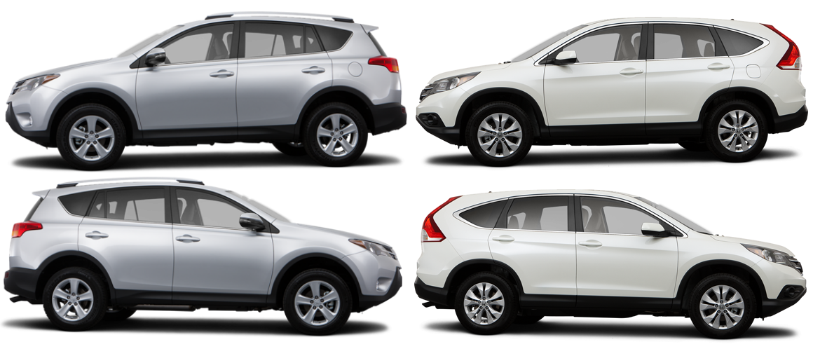 Compare honda crv and toyota rav autos post for Honda rav 4
