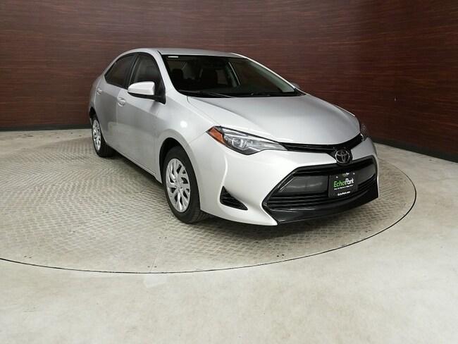 Used 2018 Toyota Corolla LE Sedan