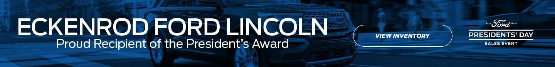 Eckenrod Ford Presidents Award