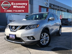 2016 Nissan Rogue SV AWD /Nav/360 cam/sunroof/pwr gate