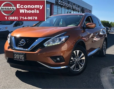 2015 Nissan Murano SL / Dual Sunroof / Leather / Navigation SUV