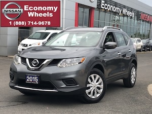 2015 Nissan Rogue S AWD One Owner - Extended Warranty
