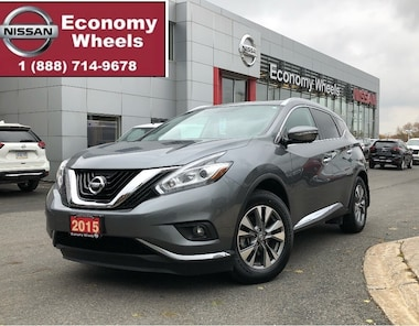 2015 Nissan Murano SL /Navi/Dual Sunroof/Power Gate SUV