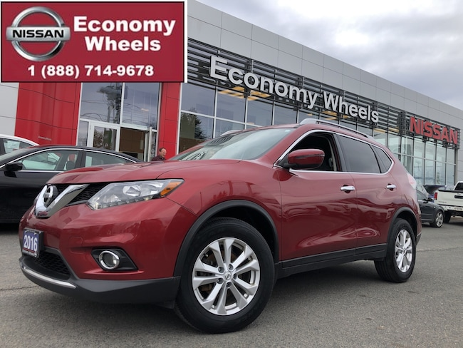 2016 Nissan Rogue SV/power seat/Fog lamps/Push Button SUV