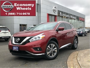 2017 Nissan Murano SL /Dual sunroof/Navi/Power gater
