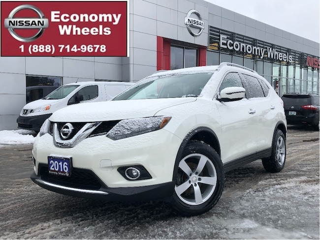 2016 Nissan Rogue SV AWD/sunroof/alloys/rr cam/push start/htd seats SUV