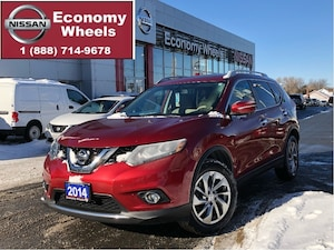 2014 Nissan Rogue SL /Navi/360Cam/pwr Tailgate/Leather