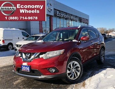 2014 Nissan Rogue SL /Navi/360Cam/pwr Tailgate/Leather SUV