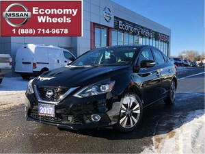 2017 Nissan Sentra SL /Leather/Navi/RR cam/Bose Audio