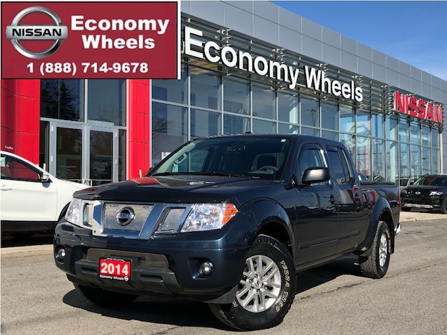 2014 Nissan Frontier SV/Fog Lamps/Heated Seats/Climate Control A/C Crew Cab