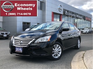 2015 Nissan Sentra SV / One Owner / Push button / RR Cam