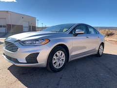 New 2019 Ford Fusion S Front-wheel Drive Sedan 3FA6P0G74KR114391 Gallup, NM