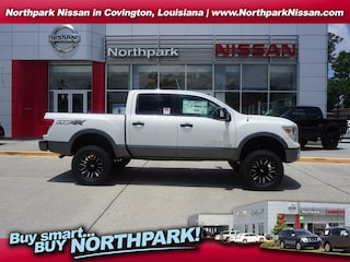 New 2018 Nissan Titan PRO-4X LEVEL^UP 4WD Truck Crew Cab Covington LA
