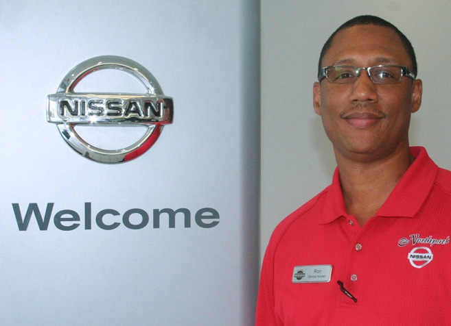 Ron Williams Service Advisor In Louisiana For Nissan Service Image - Eddie Tourelle's Northpark Nissan