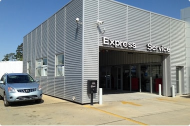 Service Area Warehouse For Nissan Service In Louisiana Image - Eddie Tourelle's Northpark Nissan