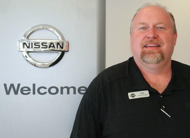 Picture Of Walt Ladner Parts Manager In Louisiana For Nissan Service - Eddie Tourelle's Northpark Nissan