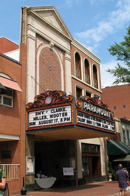 Paramount Theater in Charlottesville, VA