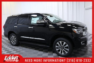 New 2018 Toyota Sequoia Limited SUV