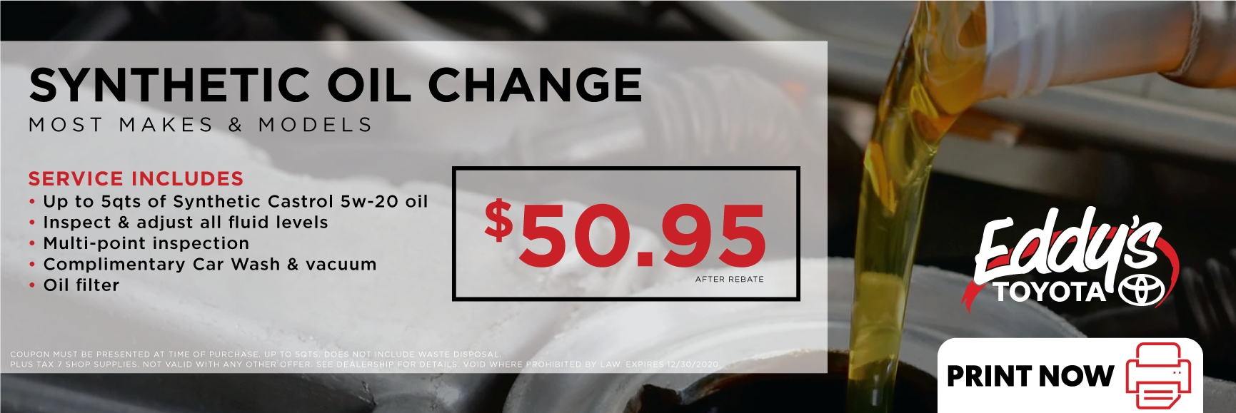Toyota Synthetic Oil Change Coupon >> Toyota Synthetic Oil Change Service Coupon Wichita Derby Car