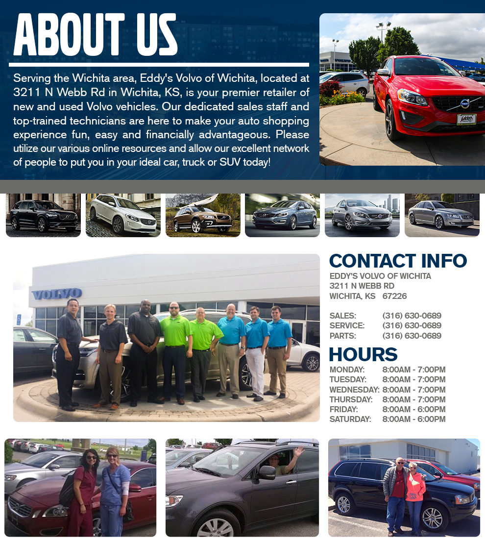 About Eddy S Volvo Of Wichita New Volvo And Used Car Dealer Wichita