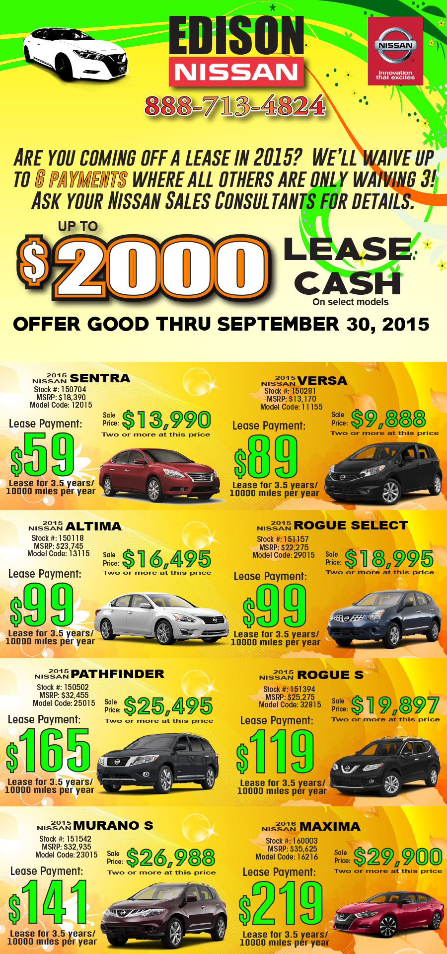 Summer Lease Loyalty Deals!