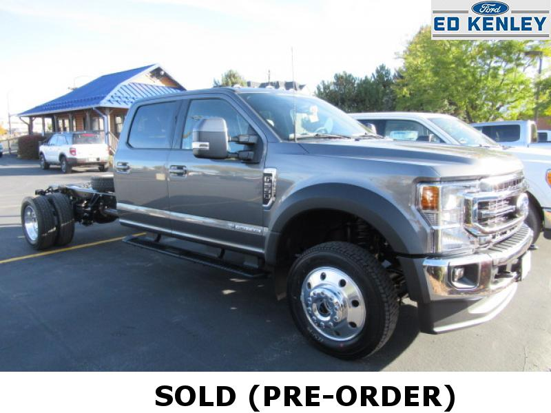 2022 Ford F-550 Chassis Truck Crew Cab