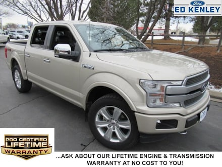 2018 Ford F-150 Platinum Crew Cab Short Bed Truck